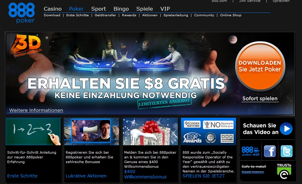 888 Poker Macbook - 888 Casino Erfahrungen