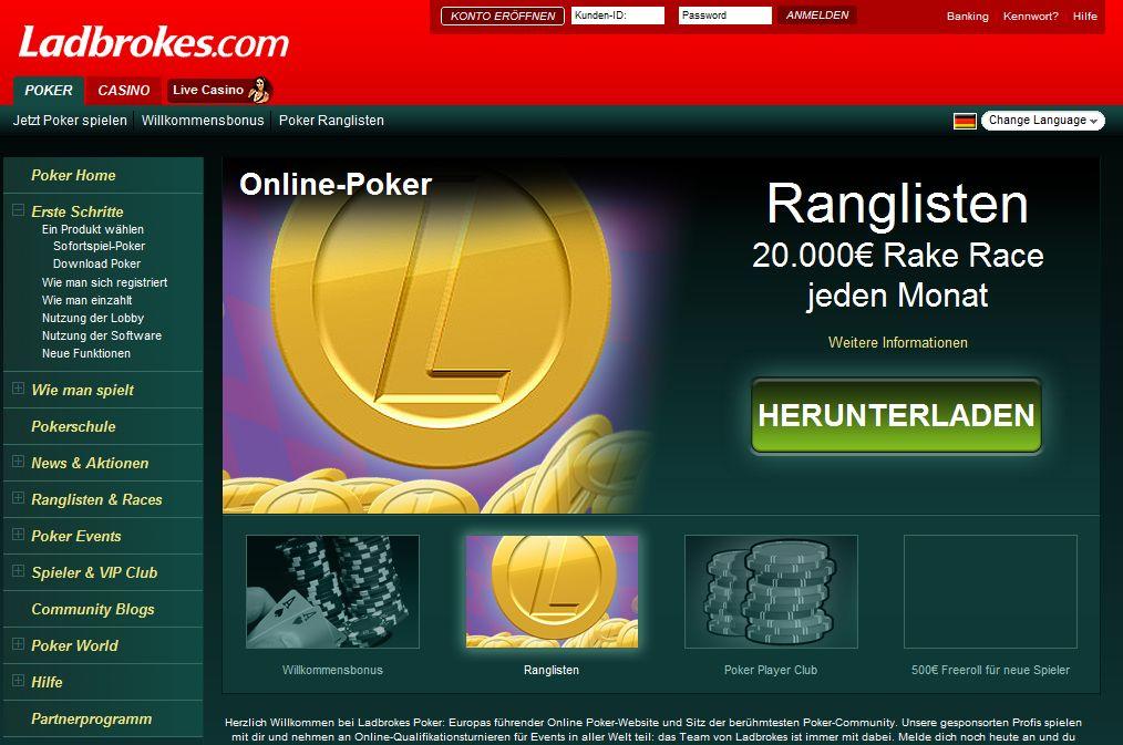 Pokerseiten Test